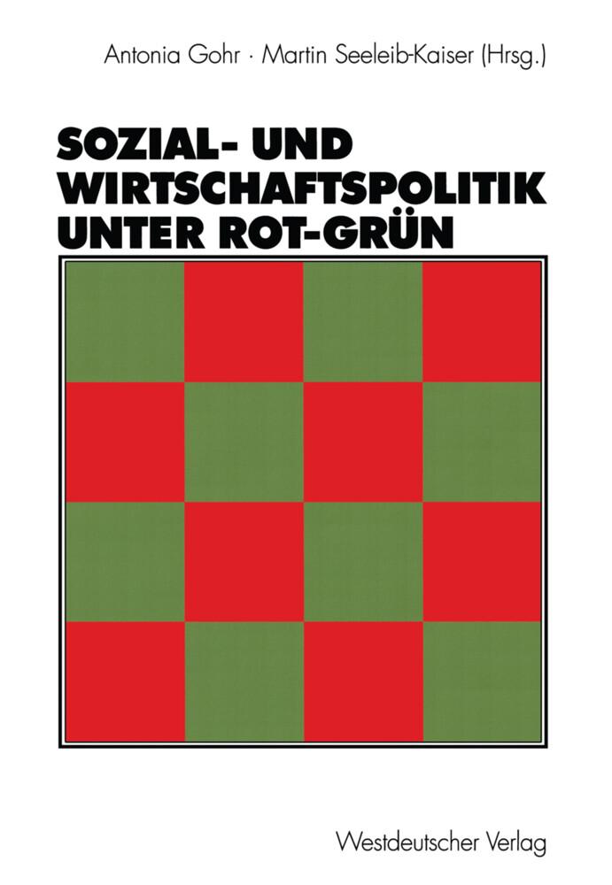 Sozial- und Wirtschaftspolitik unter Rot-Grün als Buch (kartoniert)