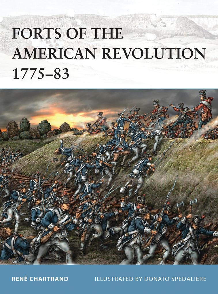 Forts of the American Revolution 1775-83 als Taschenbuch