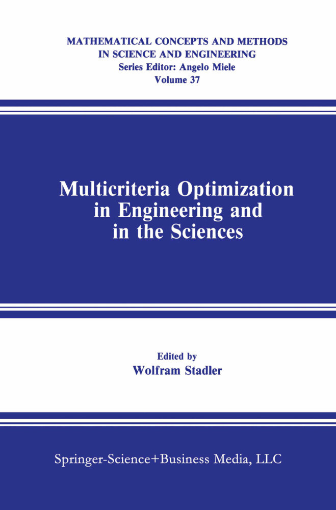 Multicriteria Optimization in Engineering and in the Sciences als Buch (gebunden)