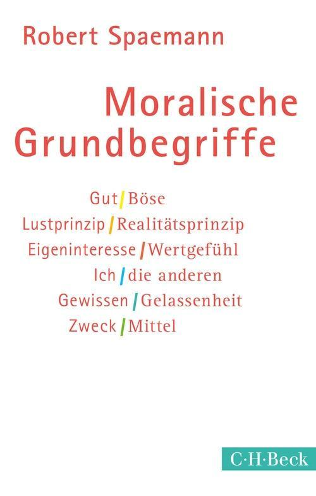 Moralische Grundbegriffe als eBook epub