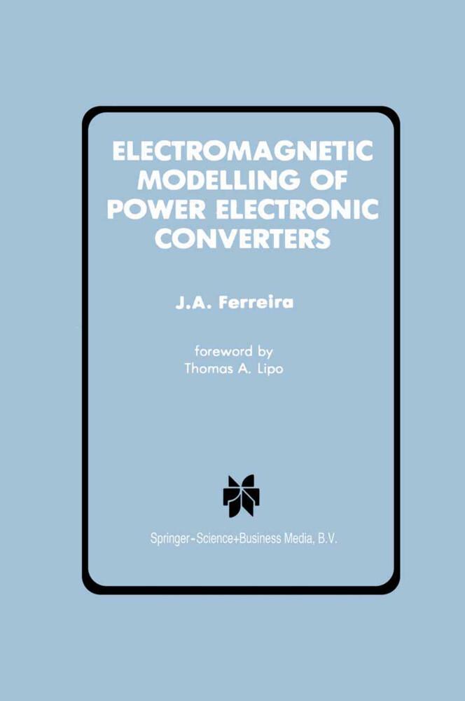 Electromagnetic Modelling of Power Electronic Converters als Buch (gebunden)