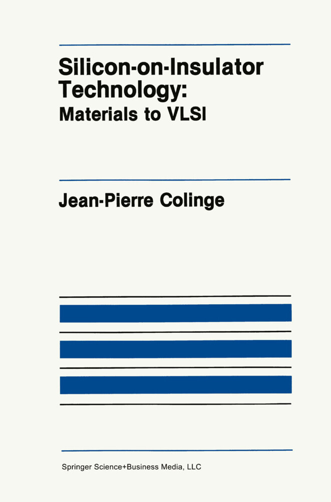 Silicon-on-Insulator Technology als Buch (gebunden)