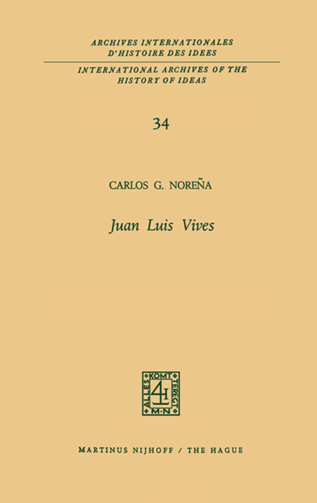 Juan Luis Vives als Buch (gebunden)
