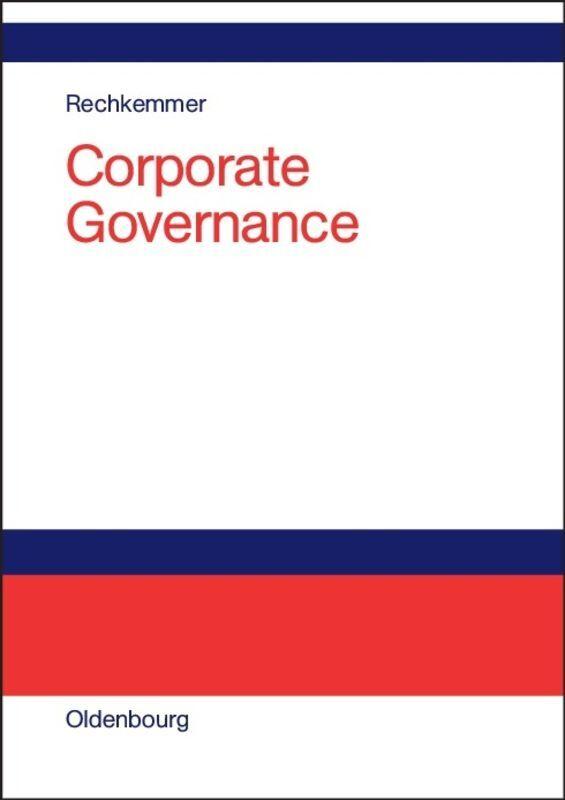 Corporate Governance als Buch (gebunden)