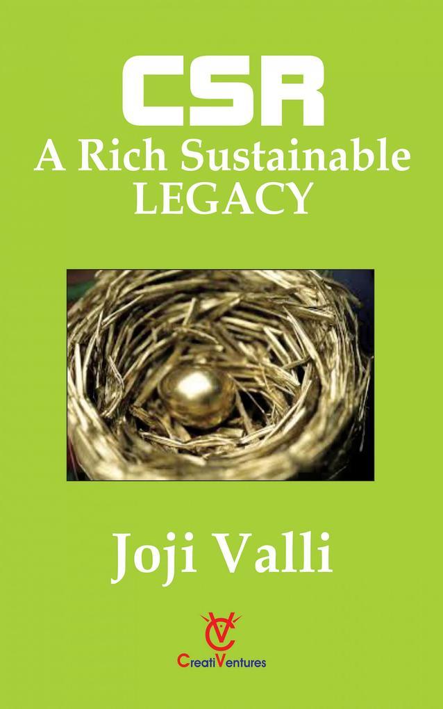 CSR: A Rich Sustainable LEGACY als eBook epub