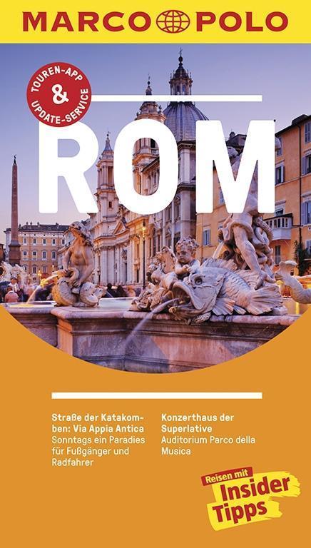 MARCO POLO Reiseführer Rom als Buch (kartoniert)
