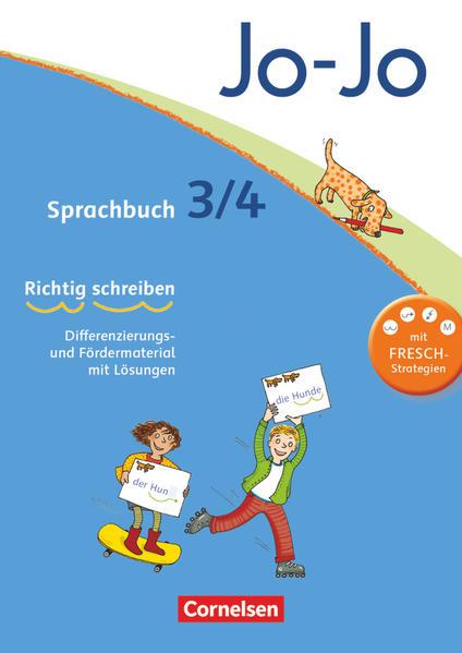 Jo-Jo Sprachbuch - Aktuelle allgemeine Ausgabe. 3./4. Schuljahr - Arbeitsblock als Buch