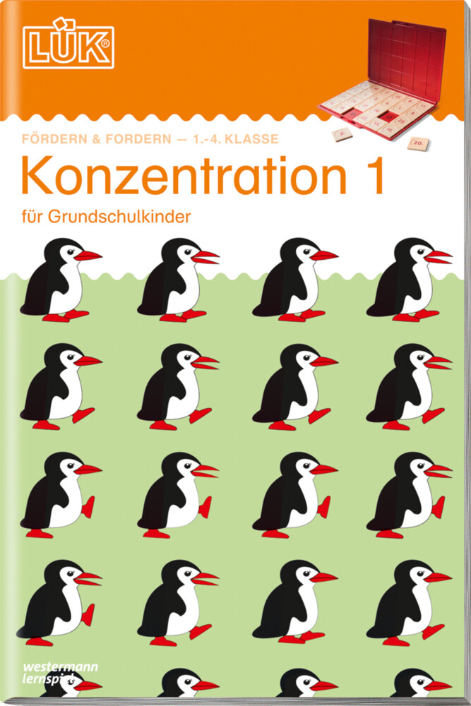 LÜK. Konzentration 1 als Buch (kartoniert)