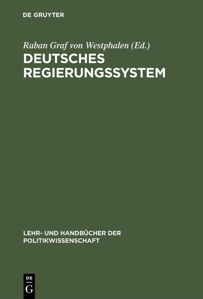 Deutsches Regierungssystem als eBook pdf
