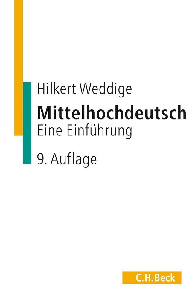 Mittelhochdeutsch als Buch (kartoniert)