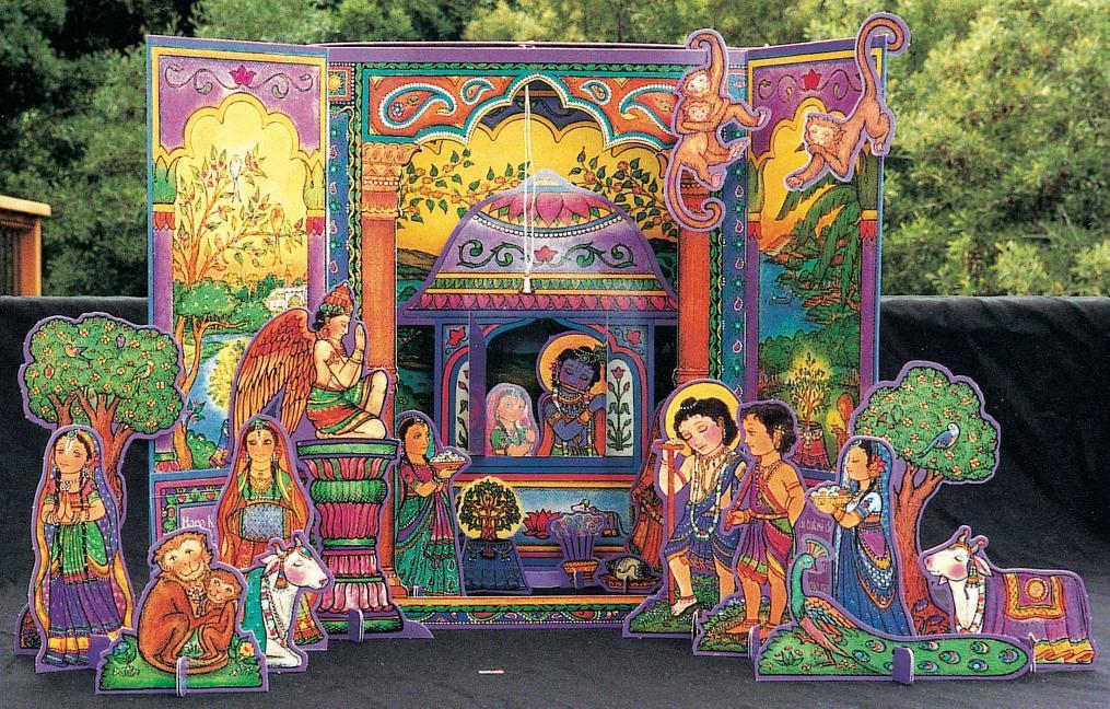 Vrindavan Activity Set: Fold-Out Temple and Altar als Taschenbuch