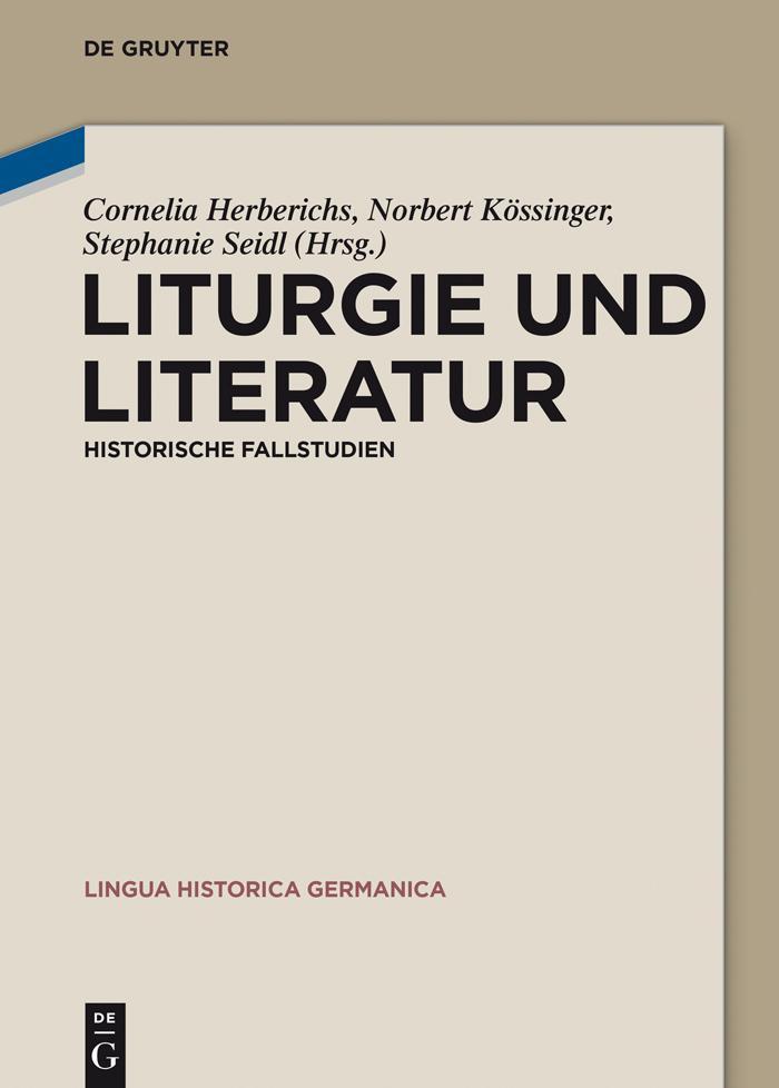 Liturgie und Literatur als eBook epub