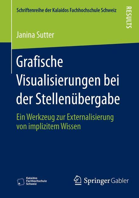 Grafische Visualisierungen bei der Stellenübergabe als Buch (kartoniert)