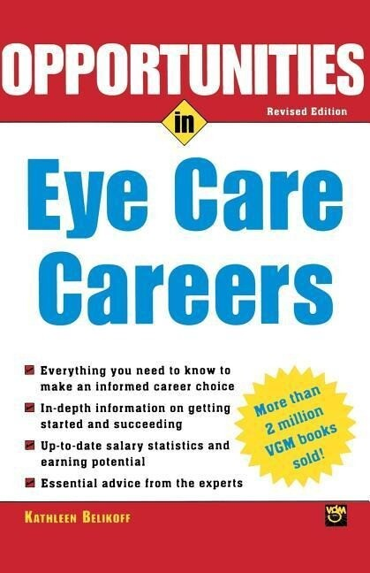 Opportunities in Eye Care Careers als Taschenbuch