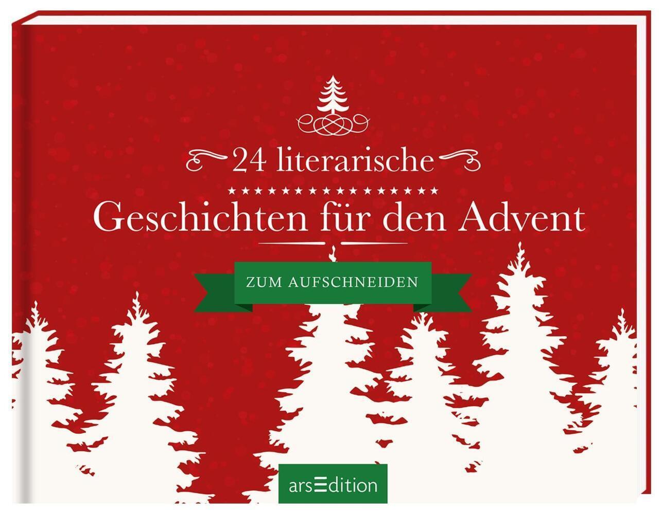 24 literarische Geschichten für den Advent als Buch (gebunden)