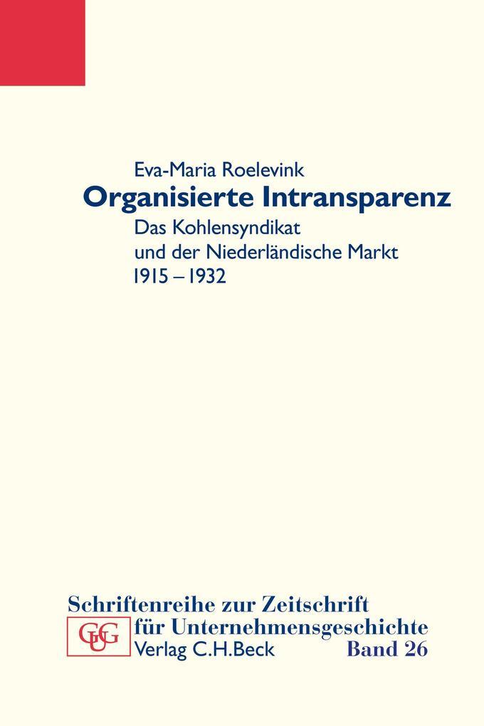 Organisierte Intransparenz als eBook pdf