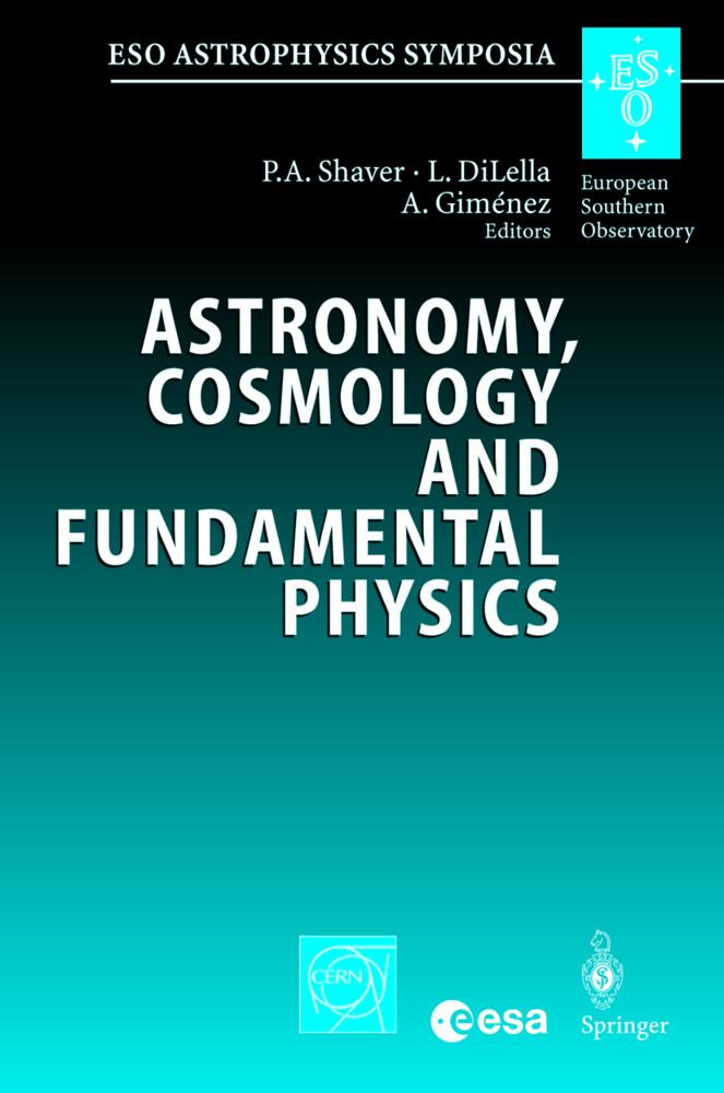 Astronomy, Cosmology and Fundamental Physics als Buch (gebunden)