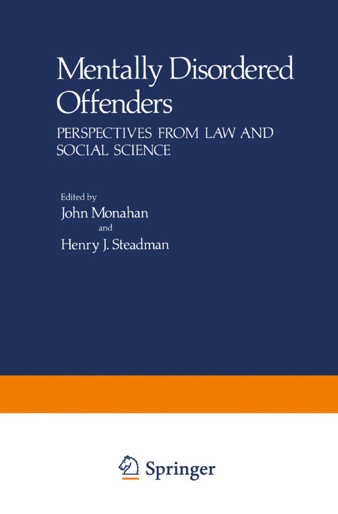 Mentally Disordered Offenders als Buch (gebunden)