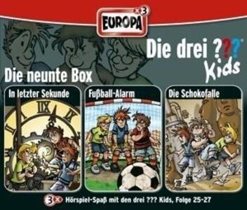 Die drei ??? Kids. 3er Box Folgen 25 - 27 (drei Fragezeichen) 3 CDs als Hörbuch CD