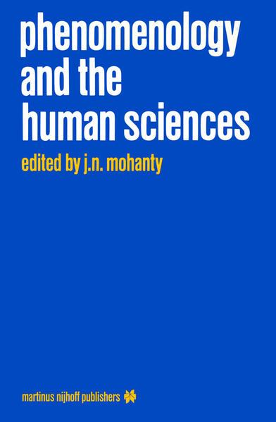 Phenomenology and the Human Sciences als Buch (kartoniert)