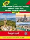 Deutschland - Österreich - Schweiz Autoatlas 1:300.000