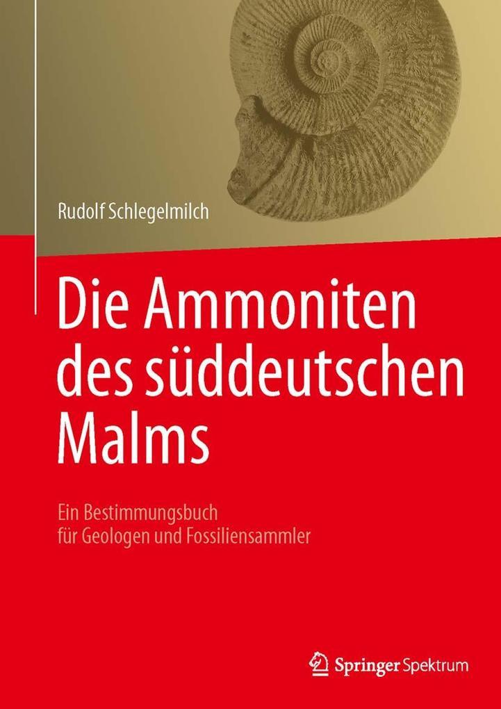 Die Ammoniten des süddeutschen Malms als eBook pdf