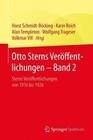 Otto Sterns Veröffentlichungen - Band 2
