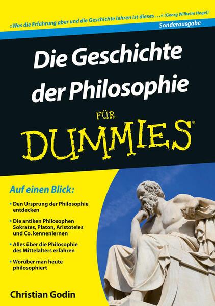 Die Geschichte der Philosophie für Dummies als Buch (kartoniert)