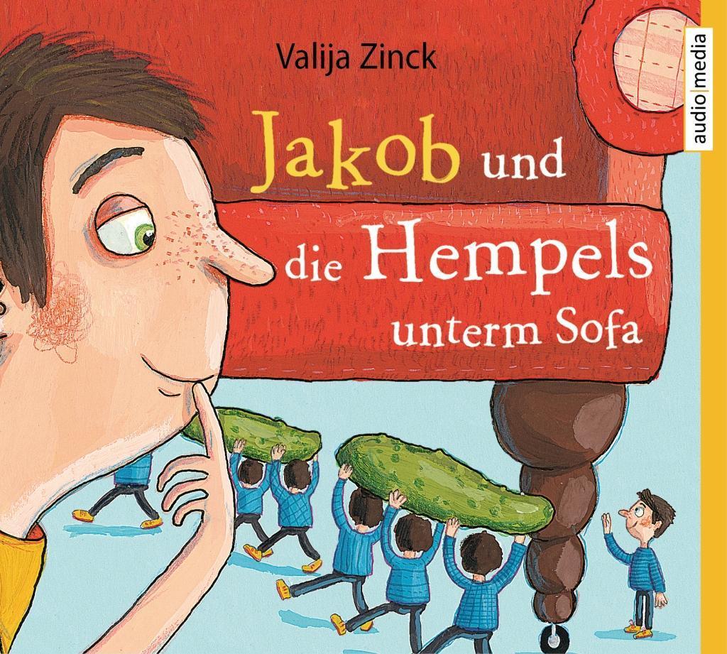 Valija Zinck Jakob und Hempels unterm Sofa Hörbuch