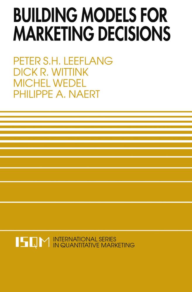 Building Models for Marketing Decisions als Buch (kartoniert)