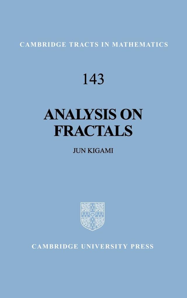 Analysis on Fractals als Buch (gebunden)