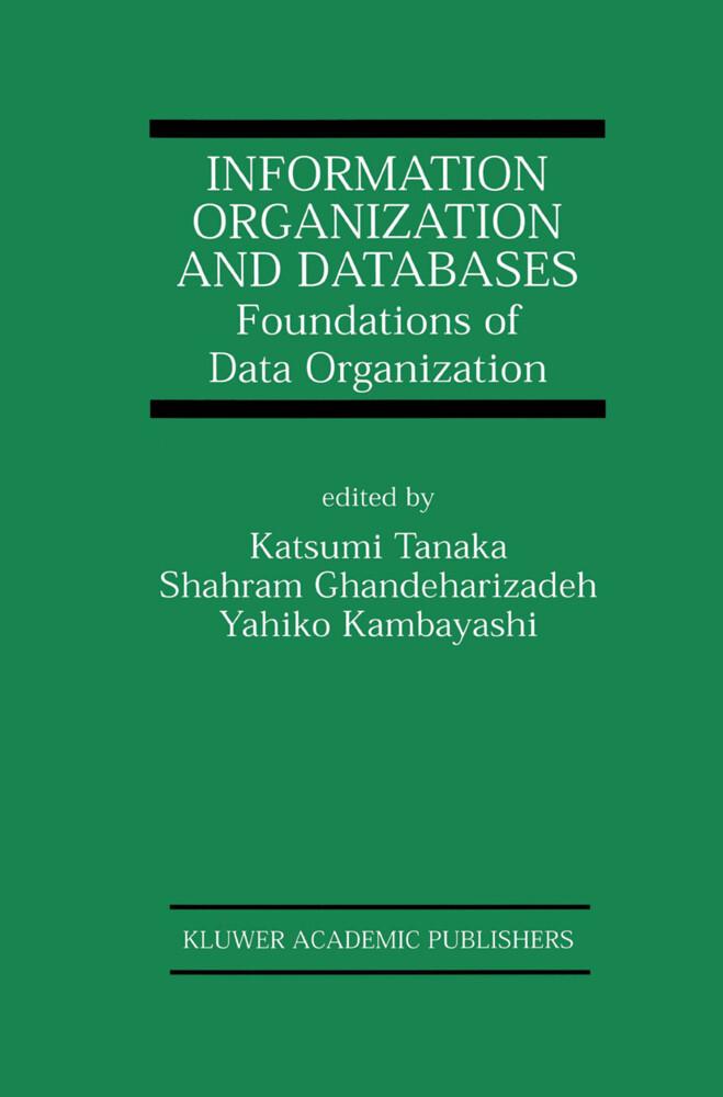 Information Organization and Databases als Buch (gebunden)