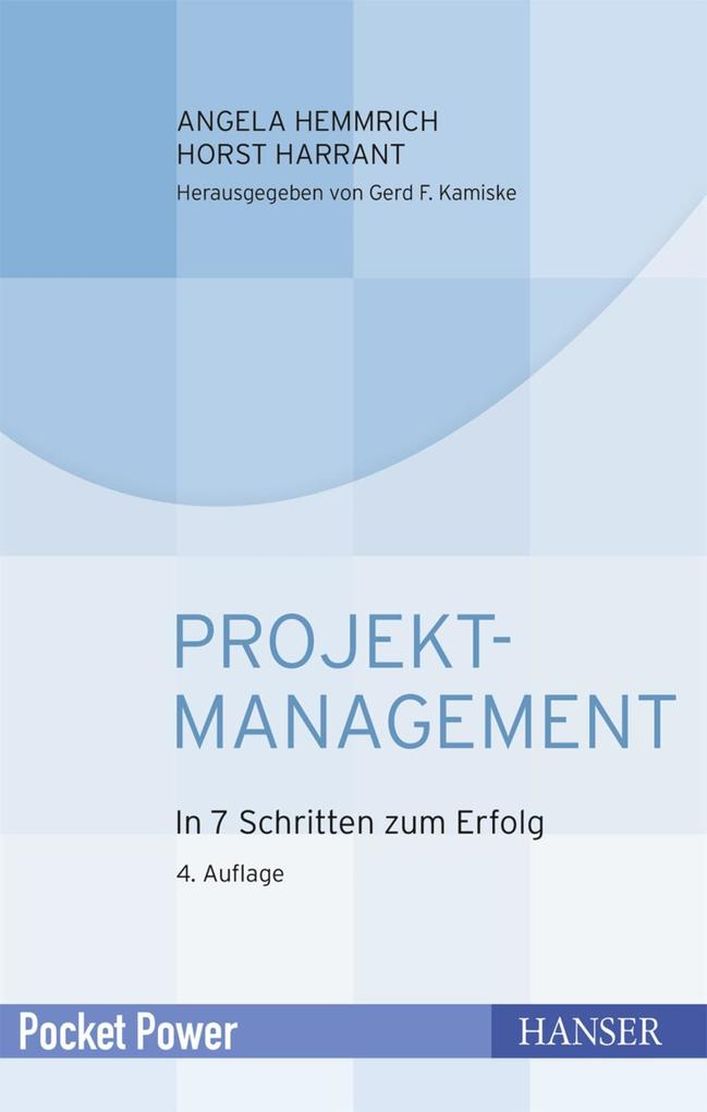 Projektmanagement als eBook epub