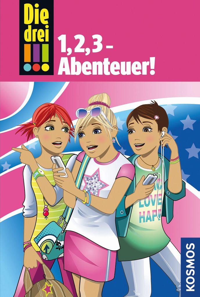 Die drei !!!, 1,2,3 Abenteuer als Buch (gebunden)
