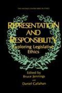 Representation and Responsibility als Buch (gebunden)