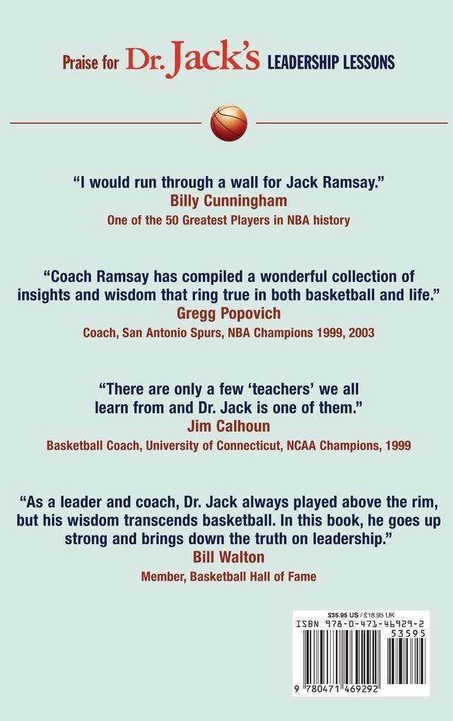 Dr. Jack s Leadership Lessons als Buch (gebunden)
