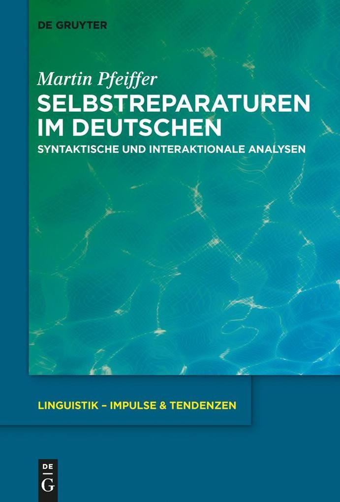 Selbstreparaturen im Deutschen als eBook epub