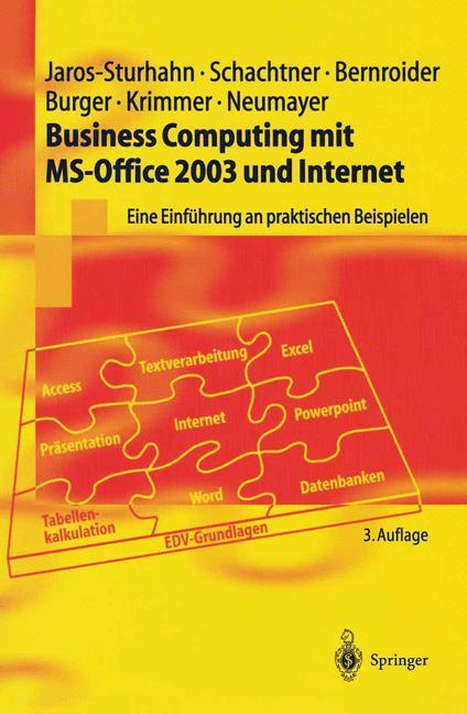 Business Computing mit MS-Office 2003 und Internet als Buch (kartoniert)