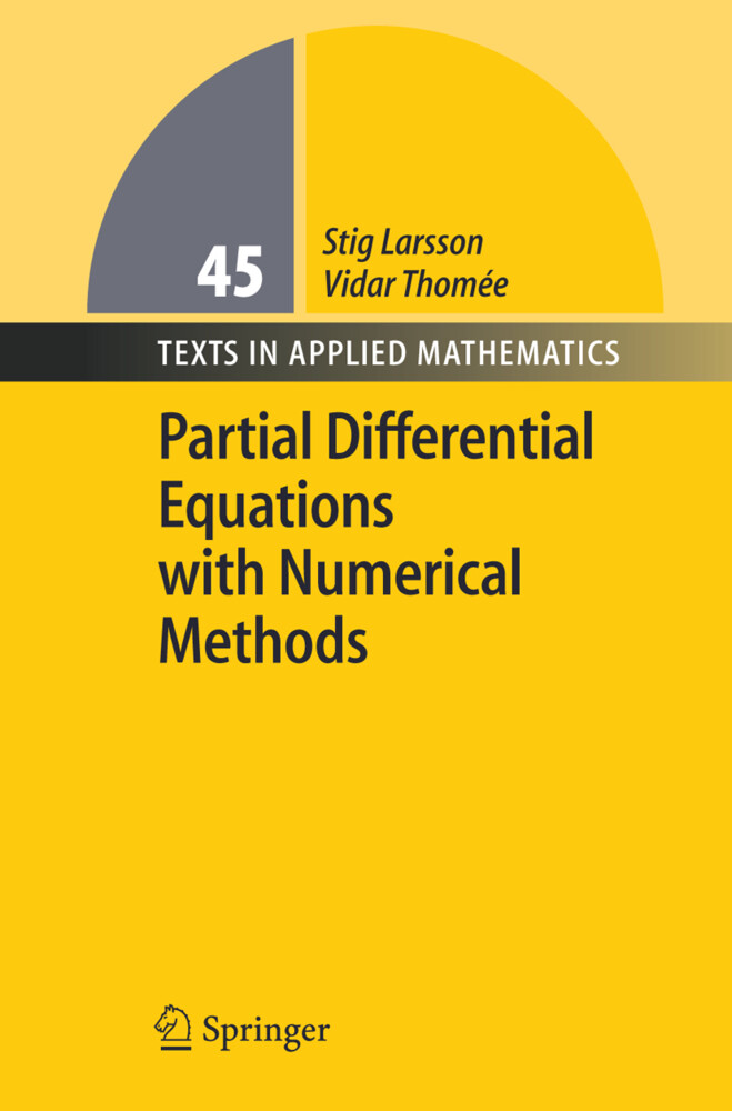 Partial Differential Equations with Numerical Methods als Buch (gebunden)