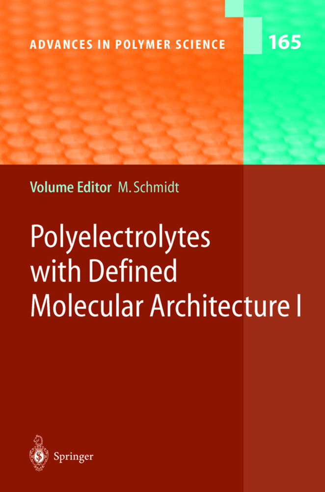 Polyelectrolytes with Defined Molecular Architecture I als Buch (gebunden)