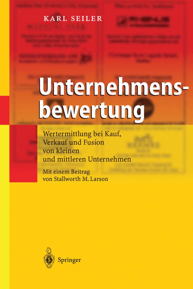 Unternehmensbewertung als Buch (gebunden)