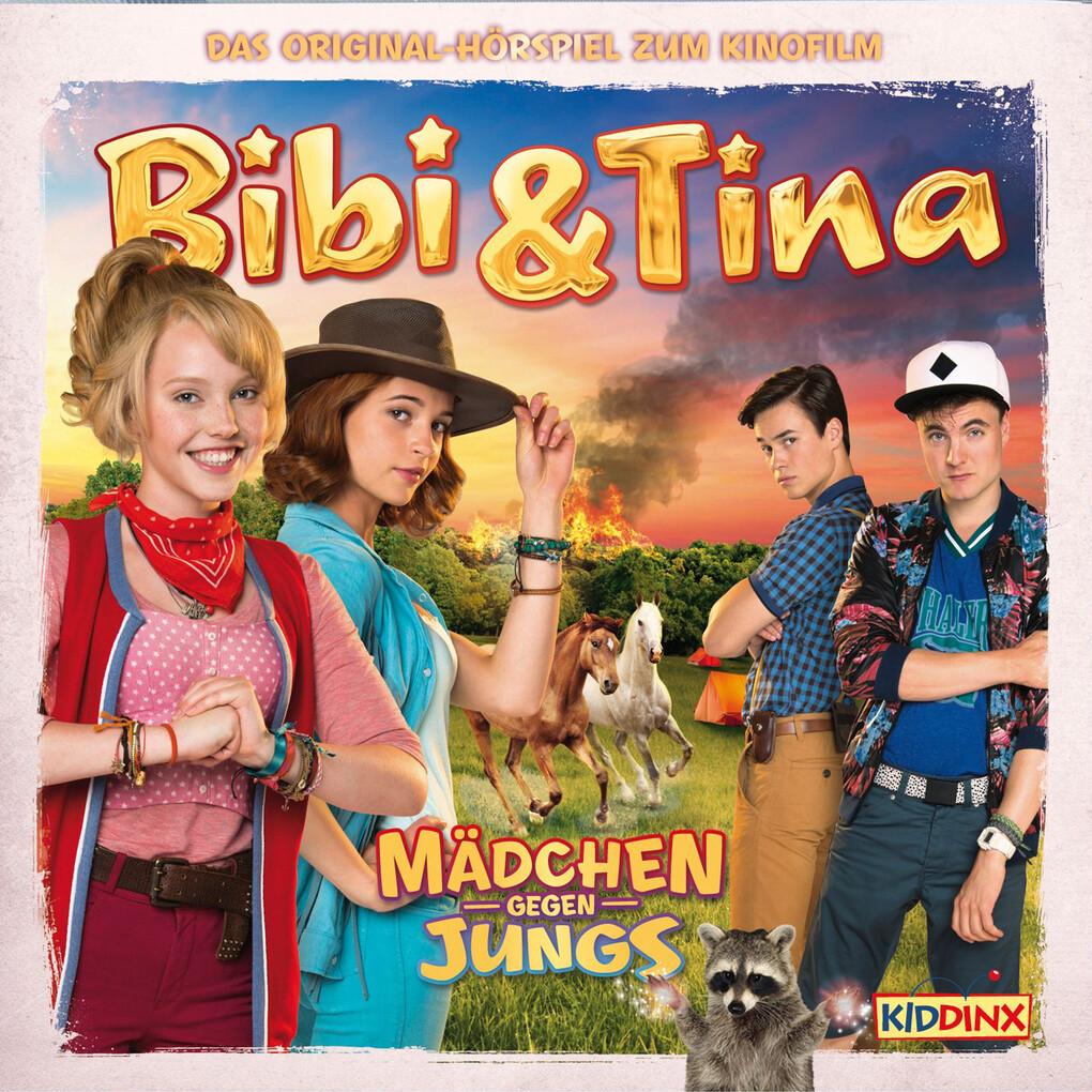 """Bibi & Tina - Das Original Hörspiel zum 3. Kinofilm """"Mädchen gegen Jungs"""" als Hörbuch Download"""
