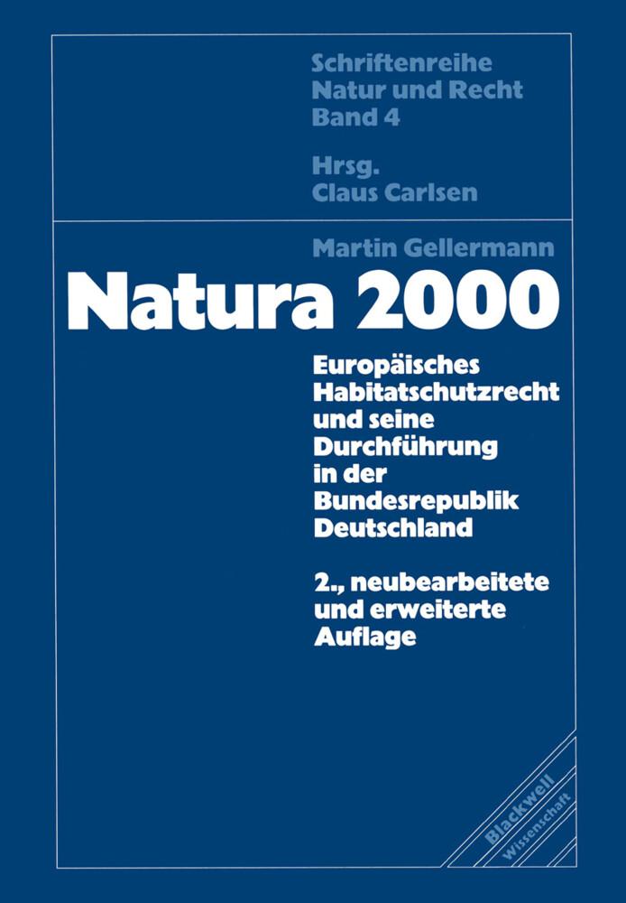 Natura 2000 als Buch (kartoniert)