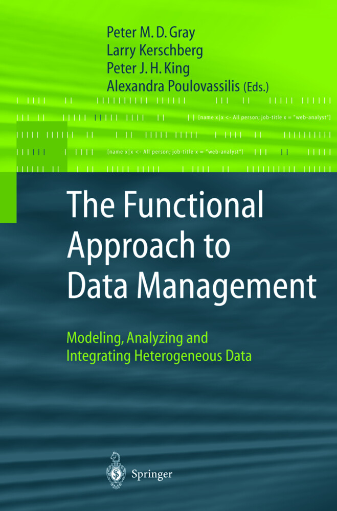 The Functional Approach to Data Management als Buch (gebunden)