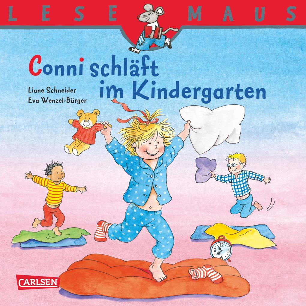 LESEMAUS: Conni schläft im Kindergarten als eBook epub