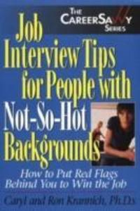 Job Interview Tips for People with Not-So-Hot Backgrounds als Taschenbuch