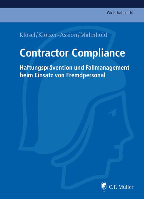 Contractor Compliance als Buch (gebunden)