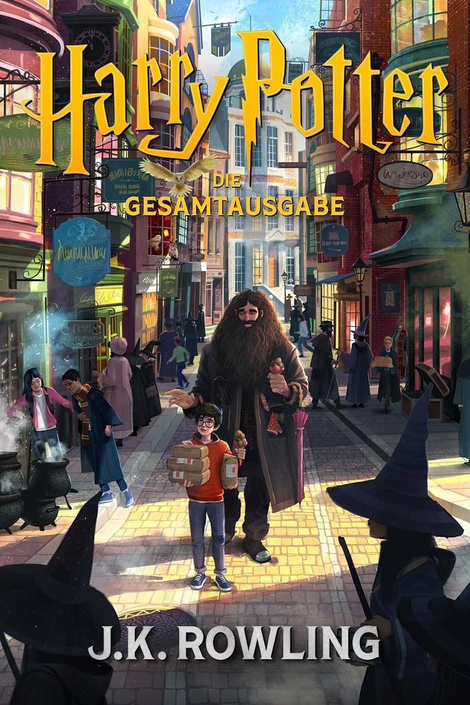 Harry Potter: Die Gesamtausgabe (1-7) als eBook epub