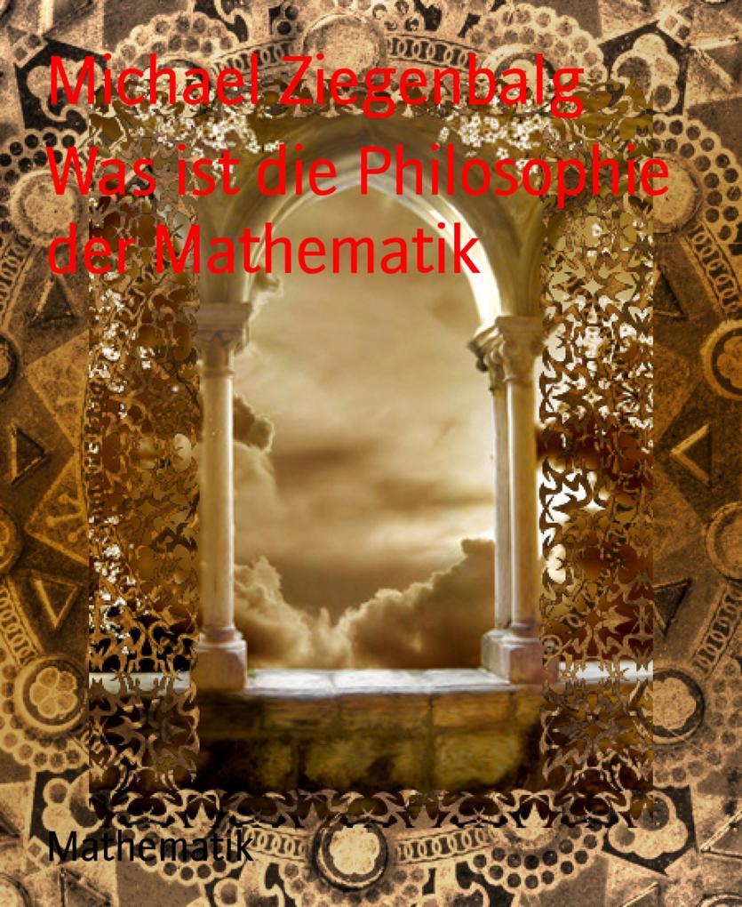 Was ist die Philosophie der Mathematik als eBook epub