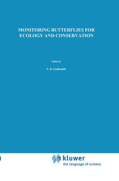 Monitoring Butterflies for Ecology and Conservation als Buch (kartoniert)